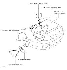 Toyota 2e Engine Diagram 1995 Toyota Corolla Serpentine Belt Routing And Timing Belt Diagrams
