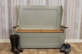 Carpentry Bench Custom Npcs Painted Storage Bench Home Design Inspirations