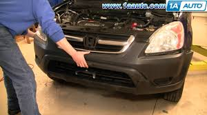 how to install replace front bumper cover honda cr v 02 06 1aauto