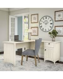 sweet deal on bush furniture salinas l shaped desk with storage in