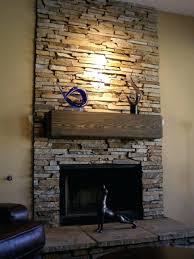explore stacked rock fireplace facing surround stone doors near me