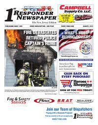 Flag At Half Mast Today Nj 1st Responder Nj August Edition By Belsito Communications Inc Issuu