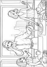 barbie thumbelina coloring 17 barbie coloring book