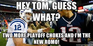 Andrew Luck Memes - andrew luck and tom brady meme dubsism