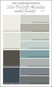 readers u0027 favorite paint colors color palette monday