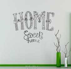 cute sayings for home decor home sweet home wall sticker sayings vinyl decal nursery quote