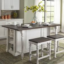 august grove bourbon country kitchen island set with counter plank august grove reg bourbon country kitchen island set with counter plank top