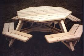 How To Make A Wooden Octagon Picnic Table by Project Dining Room Large Picnic Table Plans Wood Hampedia