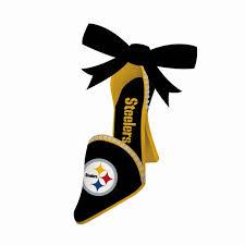 pittsburgh steelers high heel shoe ornament item 420836 the