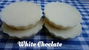 How To Make White Chocolate How To Make White Chocolate White Chocolate Hindi Recipe Youtube