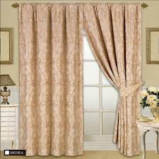 Designer Tie Backs For Curtains Fully Lined Designer Jacquard Curtains With Tie Back Melanie