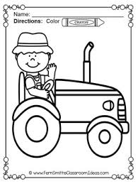 farm coloring pages farm animals coloring pages tpt