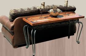 wood and iron sofa table wrought iron sofa table that will fascinated you homesfeed