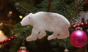 how to make adorable polar ornaments out of an wool