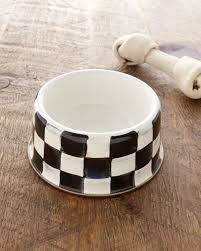 mackenzie childs wedding registry mackenzie childs medium courtly check pet bowl