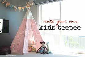 diy kids teepee the thud
