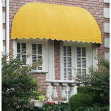 Beauty Mark Awning Clear Stationary Awnings Awnings The Home Depot