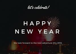 new year s greeting cards happy new year cards 2018 new year 2018 greeting cards