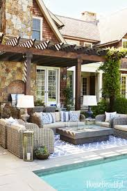 Outdoor Furniture Small Space by Best 25 Outdoor Pool Furniture Ideas On Pinterest Pool