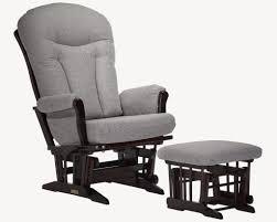 Gliding Chair Dutailier Classic 858 Grand Sleigh Wooden Glider Chair Kids N Cribs