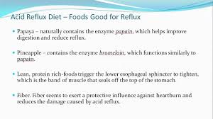 acid reflux diet plan best foods to avoid and those to eat