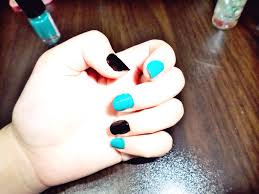 turquoise floral nail art tutorial alice u0026 dew