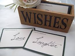 wish cards for wedding make a wish wedding update wish and