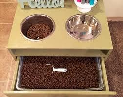 Decorative Dog Food Storage Containers Dog Food Storage Etsy