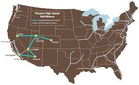 Portland Speed Map by Home Western High Speed Rail Alliance
