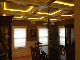Dining Room Ceilings Ceiling Stunning Coffered Ceiling For Charming Ceiling Ideas