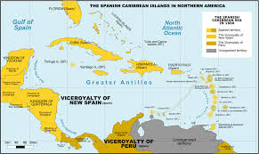 Where Is Puerto Rico On A Map by Captaincy General Of Guatemala Wikipedia