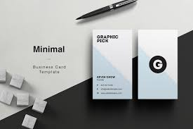 minimal business card business card templates creative market