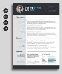 eye catching resume templates free word resume template png x80036 50 eye catching cv templates