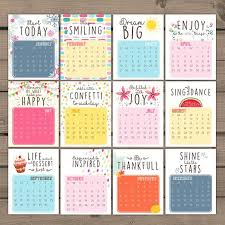 inspirational quote calendar 25 unique monthly calendar 2016 ideas