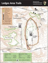 Riverside State Park Trail Map by Cuyahoga Valley Trail Map Cuyahoga Valley National Park