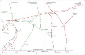 Tampa Bay Map Tampa Bay Trains Tampa Bay Lines South