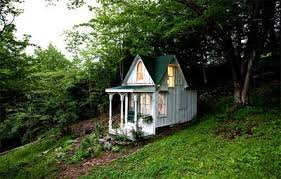 one room cottages vintage girl a victorian cottage in the woods