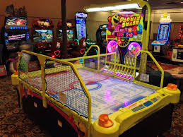 hockey time air hockey table does this pac man smash air hockey table exist in any of the houston