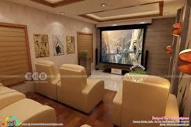 Rit Floor Plans Kerala Home Theater Interior Set Up Kerala Home Design And Floor