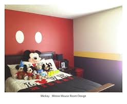 25 mickey minnie mouse bedroom design ideas home and house