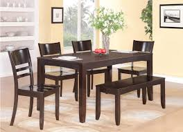 seater dining table with bench room chairs gallery marvellous