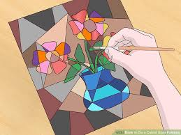 how to do a cubist style painting 14 steps with pictures