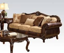 Fabric Or Leather Sofa Sofa Leather Fabric Sofa Traditional And Sets Dreaded Image