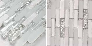 wholesale stone with frosted crystal mosaic tile sheet backsplash of