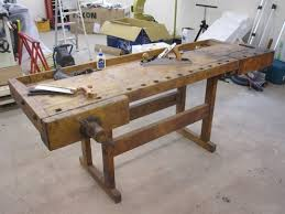 Woodworking Bench For Sale Craigslist by The 100 Year Old Workbench Apartment Therapy
