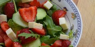 cuisine estivale salade estivale facile recette sur cuisine actuelle