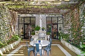 a town home with a private courtyard for 1 1 million