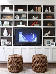 Inbuilt Bookshelf Built In Cabinets Design Ideas