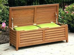 Garden Bench With Storage Bench Seat Storage Build Wooden Bench Seat Storage Box Plans Plans