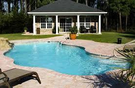Deep Backyard Pool by Blue Hawaiian Blue Isle 34 Pool Model
